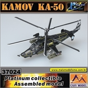 EM - Helicóptero KAMOV KA-50 Blackshark Russian Air Force n.318 Werewolf - Easy Model - 1/72