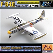 EM - F-84E Thunderjet - (51-490) 523 FES Lt Col W Bertram 1951 - Easy Model - 1/72