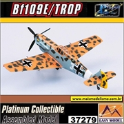EM - Messerschmitt BF-109 E- 1/TROP / JG27 Marseille - Easy Model - 1/72