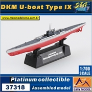 EMS - DKM U-Boat Type IX 1943 - Easy Model - 1/700