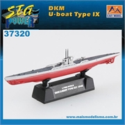 EMS - Submarino DKM U-Boot Type IXC 1942 - Easy Model - 1/700