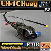 EM - Helicóptero UH-1C Huey of the 120th AHC 3rd Platoon 1969 - Easy Model - 1/48