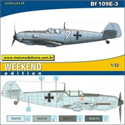 Messerschmitt BF 109E-3 - Weekend Edition Eduard - 1/32