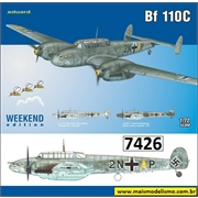Messerschmitt BF110C - Weekend Edition Eduard - 1/72