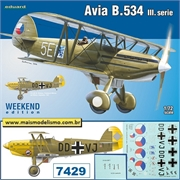 Avia B.534 III.série - Weekend Edition Eduard - 1/72