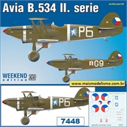 Avia B.534 II.série - Weekend Edition Eduard - 1/72
