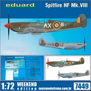 Spitfire HF Mk. VIII - Weekend Edition Eduard - 1/72