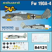 Focke Wulf FW 190 A-4 - Weekend Edition Eduard - 1/48