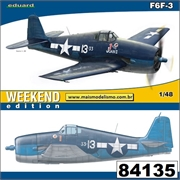 F 6F-3 Hellcat - Weekend Edition Eduard - 1/48