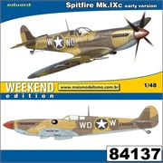 Spitfire Mk. IXc early version - Weekend Edition Eduard - 1/48