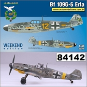 Messerschmitt BF109 G- 6 Erla - Weekend Edition Eduard - 1/48