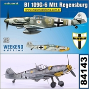 Messerschmitt BF109 G- 6 Mtt Regensburg - Weekend Edition Eduard - 1/48