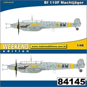 Messerschmitt BF110 F Nachtjager - Weekend Edition Eduard - 1/48