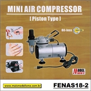 Mini Compressor de Ar AS18-2 - Fengda