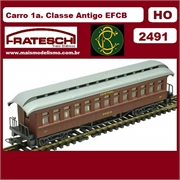 2491 - CARRO 1a. e 2a. CL. ANTIGO EFCB - Central do Brasil - (HO)
