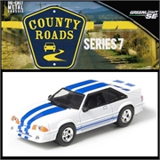 CR 7 - 1991 Ford MUSTANG - Greenlight - 1/64