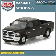 2017 - Dodge Ram 2500 - Blue Collar Greenlight - 1/64