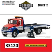 International DuraStar BFGoodrich Rampa e Mecânico - Greenlight - 1/64