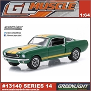 GLMUSCLE 14 - 1966 Ford SHELBY GT-350H - Greenlight - 1/64
