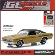 GLMUSCLE 15 - 1969 Chevrolet Yenko Copo CHEVELLE - Greenlight - 1/64