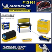 GLMUSCLE - Acessórios de Oficina MICHELIN Shop Tools - Greenlight - 1/64
