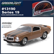 GLMUSCLE 19 - 1972 Chevrolet Camaro Z/28 - Greenlight - 1/64