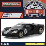 2017 - Ford GT Preto n.2 - Greenlight - 1/64