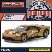 2017 - Ford GT Dourado n.5 - Greenlight - 1/64