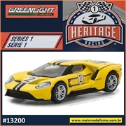 2017 - Ford GT Amarelo n.2 - Greenlight - 1/64