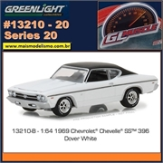 GLMUSCLE 20 - 1969 Chevrolet Chevelle SS - Greenlight - 1/64