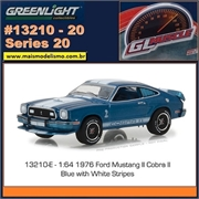 GLMUSCLE 20 - 1976 Ford Mustang II Cobra II - Greenlight - 1/64