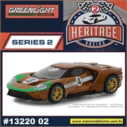 2017 - Ford GT Dourado n.4 - Greenlight - 1/64