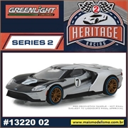 2017 - Ford GT Prata n.7 - Greenlight - 1/64