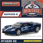 2017 - Ford GT Azul n.4 - Greenlight - 1/64