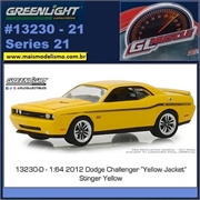 GLMUSCLE 21 - 2012 Dodge Challenger SRT 392 - Greenlight - 1/64