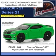 GLMUSCLE 21 - 2017 Chevrolet Camaro SS - Greenlight - 1/64