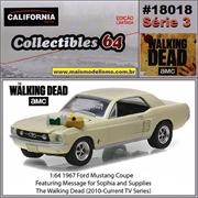 C64 - 1967 Ford Mustang Coupe - California - 1/64