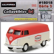 C64 - 1975 VW Kombi Furgão TEXACO - California - 1/64
