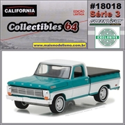C64 - 1969 Ford F-100 with Bed Cover - California - 1/64