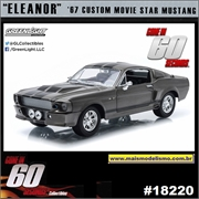 1967 - Ford Mustang ELEANOR - 60 Segundos - Greenlight - 1/24
