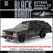 BLACK BANDIT 15 - Wagon King - Greenlight - 1/64