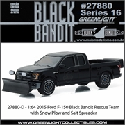 BLACK BANDIT 16 - 2015 Ford F-150 Rescue - Greenlight - 1/64