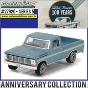 1967 - Ford F-100 100th Anniversary Edition - Greenlight - 1/64