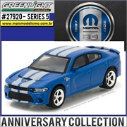 2017 - Dodge Charger SRT Hellcat 80th Anniversary Edition - Greenlight - 1/64