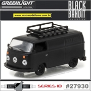 BLACK BANDIT 18 - 1974 Volkswagen Kombi - Greenlight - 1/64