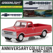 1966 - Chevrolet C10 100 Anniversary Edition - Greenlight - 1/64