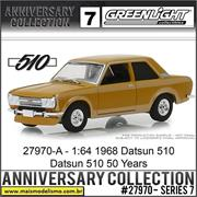 1968 - Datsun 510 50th Anniversary Edition - Greenlight - 1/64
