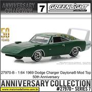 1969 - Dodge Charger Daytona 50th Anniversary Edition - Greenlight - 1/64