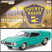 CR 6 - 1973 AMC JAVELIN AMX Verde - Greenlight - 1/64