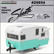Trailer SHASTA 15 Airflyte - Greenlight - 1/64